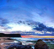 Garie :: Sunrise by Clinton Hadenham