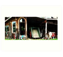 The Old Tack House Art Print