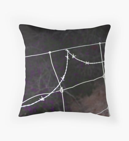 WIRE! Throw Pillow