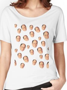 George Costanza Heads Women's Relaxed Fit T-Shirt