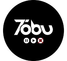 Tobu Play Circle - Black Photographic Print