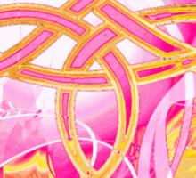 Pink Knot T-shirt Sticker
