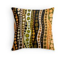 Jungle Tails Throw Pillow