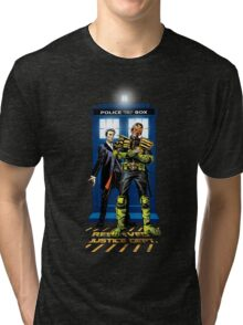 Who Judges The Doctor Tri-blend T-Shirt