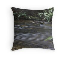 Crocodile Infested Water Throw Pillow