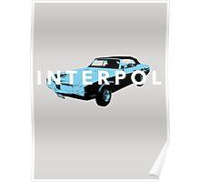 Interpol My Blue Supreme T shirt Poster