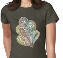 One Feather Womens Fitted T-Shirt