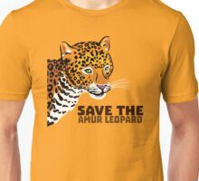 Save the Amur Leopard Unisex T-Shirt