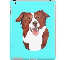 Red Border Collie Portrait iPad Case/Skin