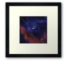 War between the Stars Framed Print