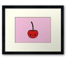 Cute cherry Framed Print
