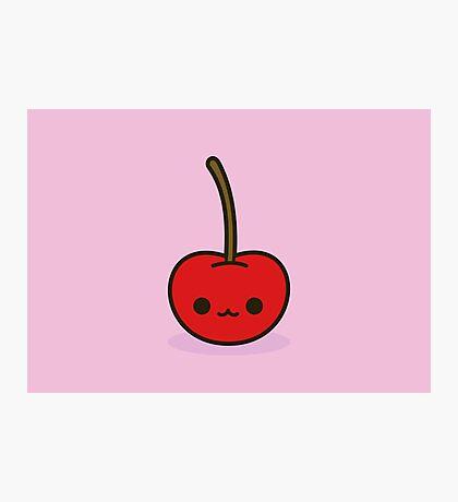 Cute cherry Photographic Print