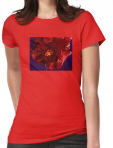 Red 02 Womens Fitted T-Shirt