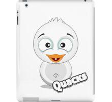 Farm Animal Fun Games - Quacks - White iPad Case/Skin