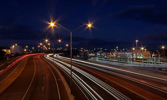 Graham Farmer Freeway Traffic  by EOS20