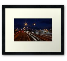 Graham Farmer Freeway Traffic  Framed Print