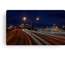 Graham Farmer Freeway Traffic  Canvas Print