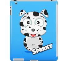 Farm Animal Fun Games - Sparky - Blue Gradient iPad Case/Skin