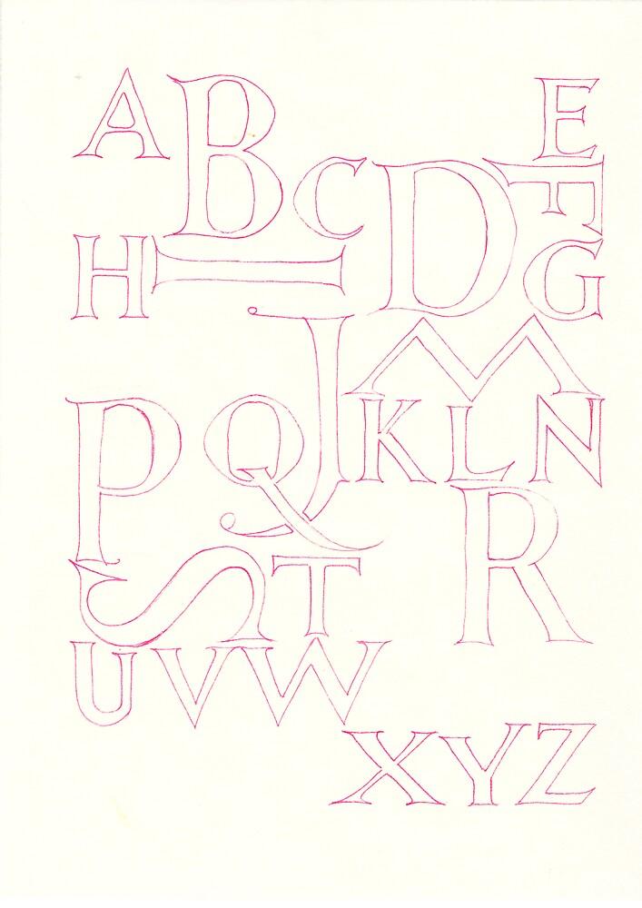 Alphabet by billgrant43