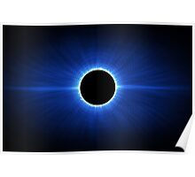 Blue Star Eclipse Poster