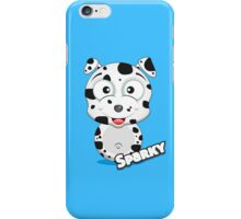 Farm Animal Fun Games - Sparky - Blue iPhone Case/Skin