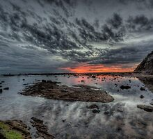 Embers Of Day  - Long Reef Aquatic Park, Sydney - The HDR Experience by Philip Johnson