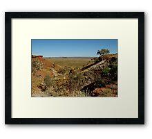 Balgo Hills,WA Framed Print