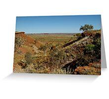 Balgo Hills,WA Greeting Card