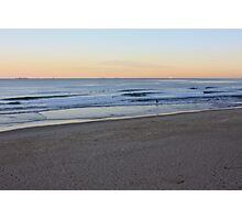 Sunset At Bar Beach Photographic Print