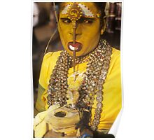 Woman as Godess Poster