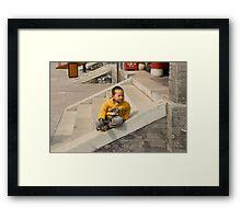 Only child Framed Print