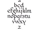 Alphabet by billgrant43