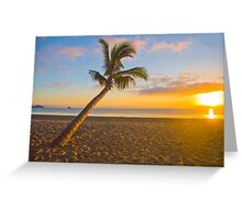 Tropical Warrior Greeting Card