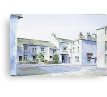 Hawkshead, Lake District, England. Canvas Print