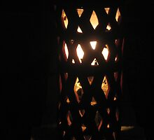 Terracotta Night Lamp by Indrani Ghose