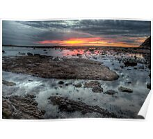 Embers - Long Reef Aquatic Park - The HDR Experience Poster