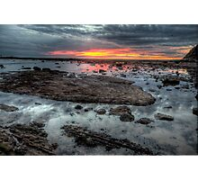 Embers - Long Reef Aquatic Park - The HDR Experience Photographic Print