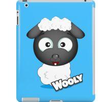 Farm Animal Fun Games - Wooly - Blue iPad Case/Skin