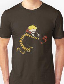 calvin and hobbes football Unisex T-Shirt