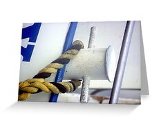 Tied Up Greeting Card