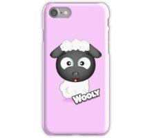 Farm Animal Fun Games - Wooly - Pink iPhone Case/Skin