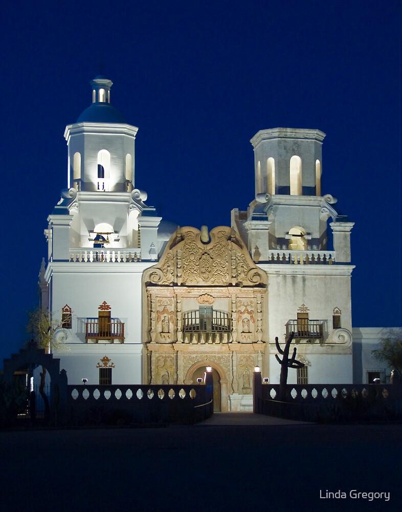San Xavier del Bac by Linda Gregory