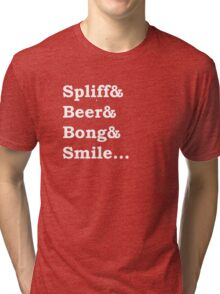 Smile (Small Text) Tri-blend T-Shirt