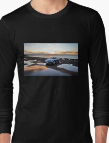 Porsche Boxster at Sunset Long Sleeve T-Shirt