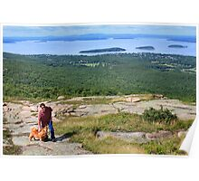 'Cindy, Scott, and Bar Harbor...' Poster