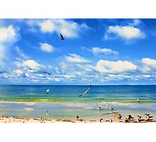 Beachy Day Photographic Print