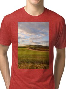 Northumbria Countryside. Tri-blend T-Shirt