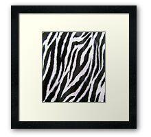 White Tiger Z Framed Print