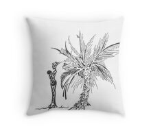 african mother Throw Pillow