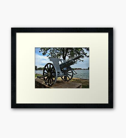 War Machine Framed Print